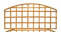 Grange Traditional Dome Trellis panel 1.83m 0.57m
