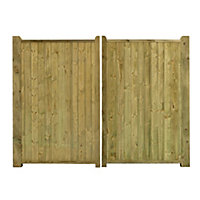 Grange Fortress Timber Fortress Gate, (H)1.8m (W)2.7m
