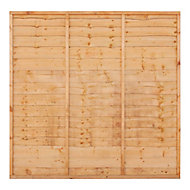 Grange Traditional Lap Fence panel (W)1.83m (H)1.5m