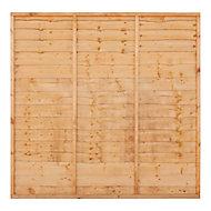 Grange Traditional Lap Fence panel (W)1.83m (H)0.9m