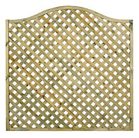 Grange Woodbury Lattice Trellis panel (W)1.8m (H)1.05m