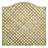 Grange Woodbury Lattice Trellis panel (W)1.8m (H)0.6m