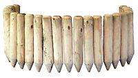 Grange Green Timber Border edging Pack of 1
