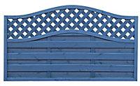 Grange Woodberry Horizontal slat Fence panel 1.8m 1.05m, Pack of 10