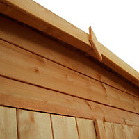 Shire Murrow 8x8 Pent Shiplap Wooden Shed - Assembly service included