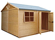 Shire Mammoth 10x10 Apex Wooden Workshop