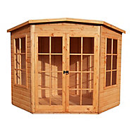 Shire Hampton 8x8 Pent Shiplap Wooden Summer house