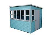 8x6 Sun Shiplap Summerhouse With assembly service