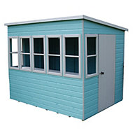 8x8 Sun Shiplap Summerhouse With assembly service
