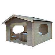 Shire Bere 11x11 Apex Tongue & groove Wooden Cabin