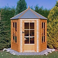 Shire Gazebo 7x7 Shiplap Wooden Summer house - Assembly service included