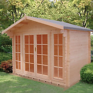 Shire Epping 10x12 Apex Tongue & groove Wooden Cabin