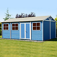 Shire Mammoth 20x10 Apex Wooden Workshop - Assembly service included