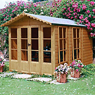 Shire Kensington 10x7 Apex Shiplap Wooden Summer house
