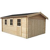 Shire 13x15 Bradenham Wooden Garage