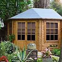Shire Belvoir 10x10 Apex Tongue & groove Wooden Cabin