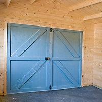 13x12 Bradenham Wooden Garage With assembly service