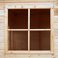 Shire Murrow 7x7 Pent Shiplap Wooden Shed