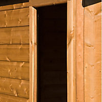 Shire Durham 8x6 Apex Shiplap Wooden Shed