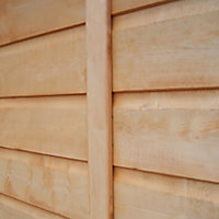 Shire Shetland 6x4 Apex Shiplap Wooden Shed (Base included)