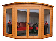 Shire Barclay 8x8 Pent Shiplap Wooden Summer house