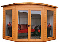 Shire Barclay 10x10 Pent Shiplap Wooden Summer house