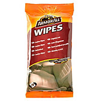 Armor All Unscented Leather wipes, Pack of 15