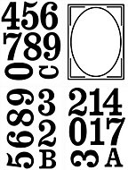 Wheelie bin Self-adhesive labels, (H)160mm (W)210mm