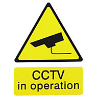 CCTV in operation Self-adhesive labels, (H)200mm (W)150mm