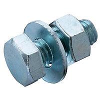 M8 Hex bolt (L) 20mm (Dia) 8mm, Pack of 10