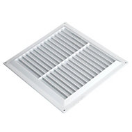 Manrose White Air vent & fly screen
