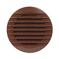 Manrose Brown Air vent & fly screen