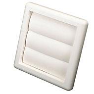 Manrose White Air vent & gravity flap