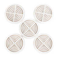 Manrose White Air vent of 5