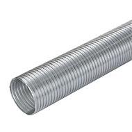 Manrose Silver Semi rigid hose