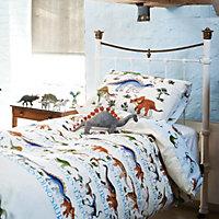 Emma Bridgewater Dinosaurs Blue Single Bedding set