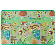 Baby Reversible farmyard Multicolour Playmat (L)1.5m (W)0.98m