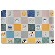 Baby Reversible animal Multicolour Playmat (L)1.5m (W)0.98m