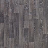 Dark grey Oak effect Vinyl flooring, 4m2