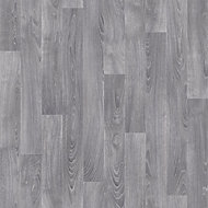 Grey Oak effect Vinyl flooring, 4m2