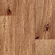 Brown Oak effect Adhesive required Vinyl tile, 4m2