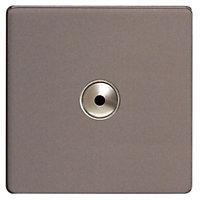 Varilight Slate grey 1 way Dimmer switch