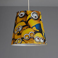 Minions Printed Yellow Light shade (D)240mm