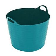 Flexi Heavy duty Bluebird blue 40L Plastic Stackable Tuff tub