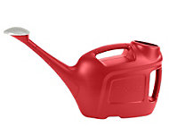 Verve Red Plastic Watering can 6L