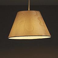 Belgravia Cream Damask jacquard Light shade (D)130mm