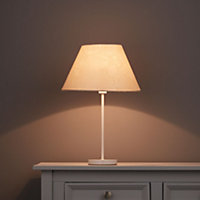 Belgravia Cream Damask jacquard Light shade (D)150mm
