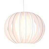 White Side pleat onion Light shade (D)320mm