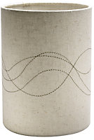 Cream Embroidered Light shade (D)190mm