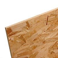 Smooth OSB 3 Board (L)2.4m (W)1.2m (T)9mm